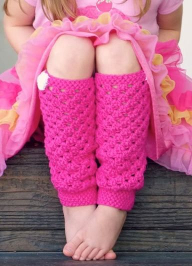Have You Seen This Free Pattern For Girly Pink Leg Warmers Gahhh