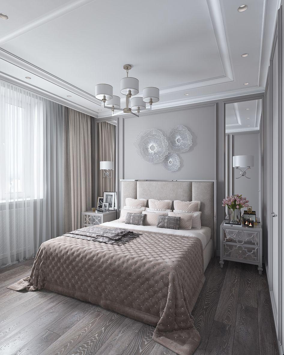 Спальня - Галерея 3ddd.ru | Интерьеры спальни, Роскошные ...