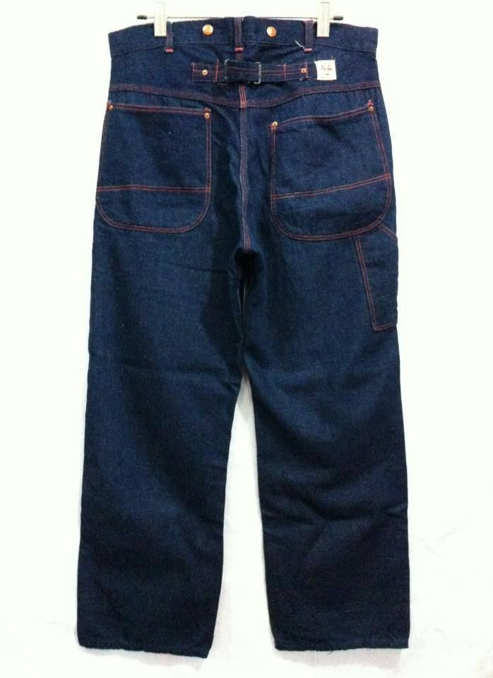 32a6055d vtg workwear pants big brother 30s-40s ONE WASH   Workwear in 2019 ...