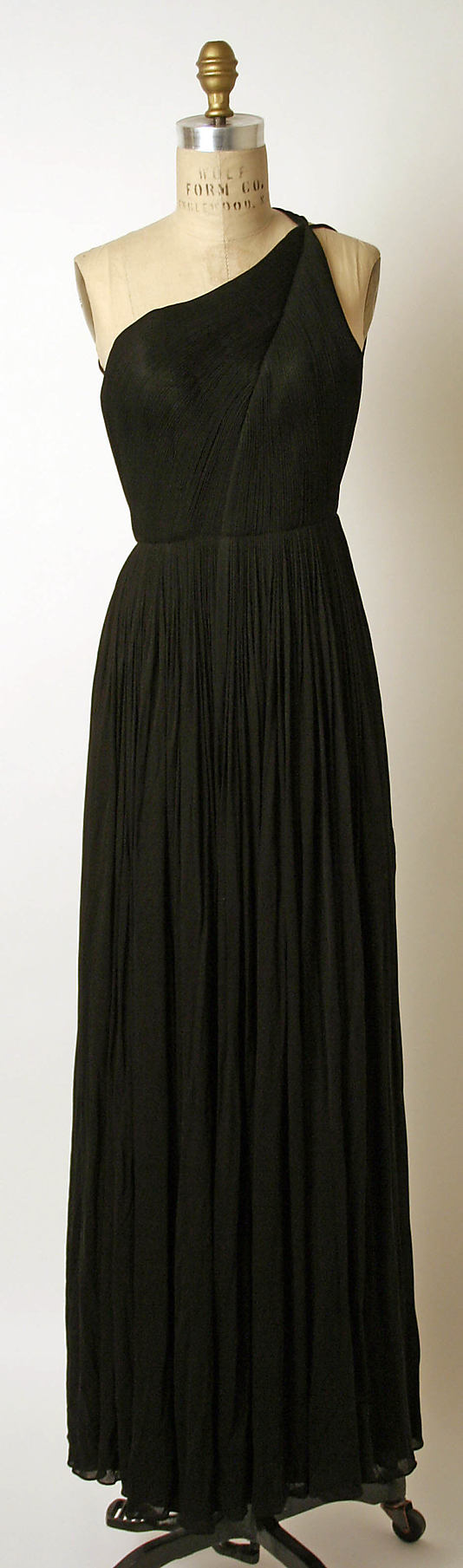 Madame Grès (Alix Barton), 1970    Let's pretend I can afford this... I would love to find a place to wear it.