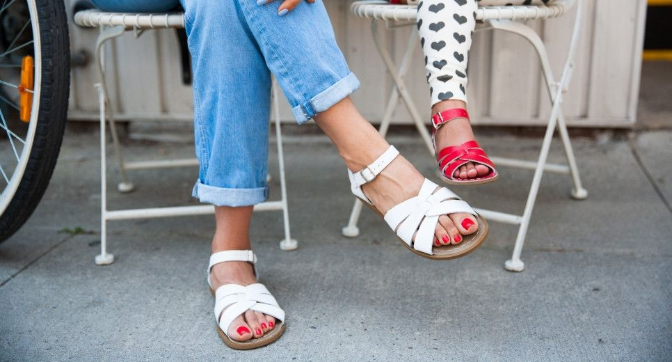 Salt Water Sandal. Just got a pair for Cinque Terre's pebbly