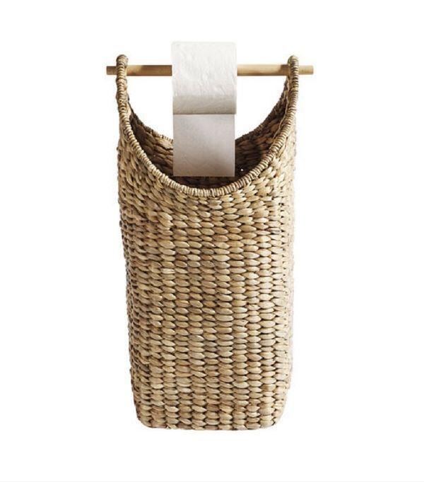 les 13 porte rouleaux papier toilette les plus chics l gants rangement papier toilette. Black Bedroom Furniture Sets. Home Design Ideas