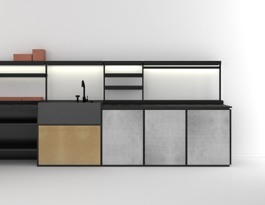 Salinas Kitchen Patricia Urquiola | K I T C H E N + | Pinterest ...