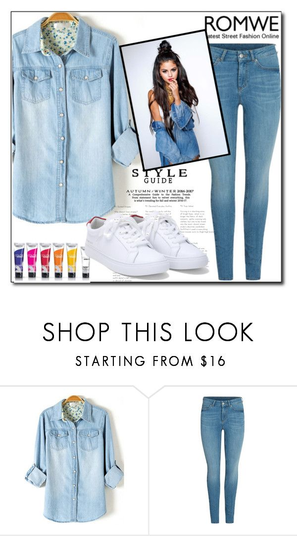 """""""Romwe"""" by ruza66-c ❤ liked on Polyvore"""