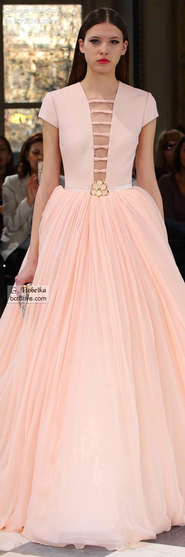 Georges Hobeika Spring 2016 Haute Couture   Vestiditos, Vestidos ...