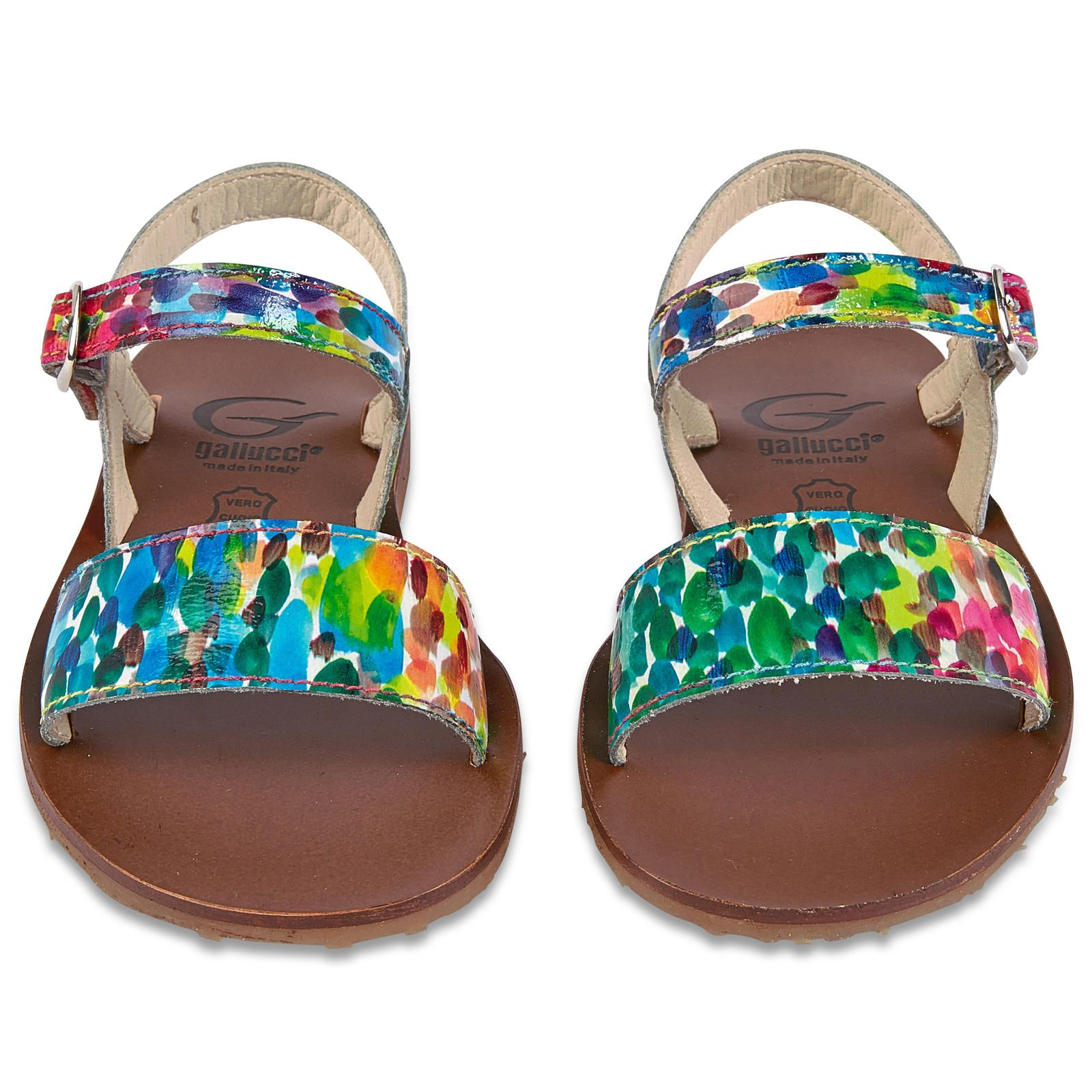 Leather sandals - 121627