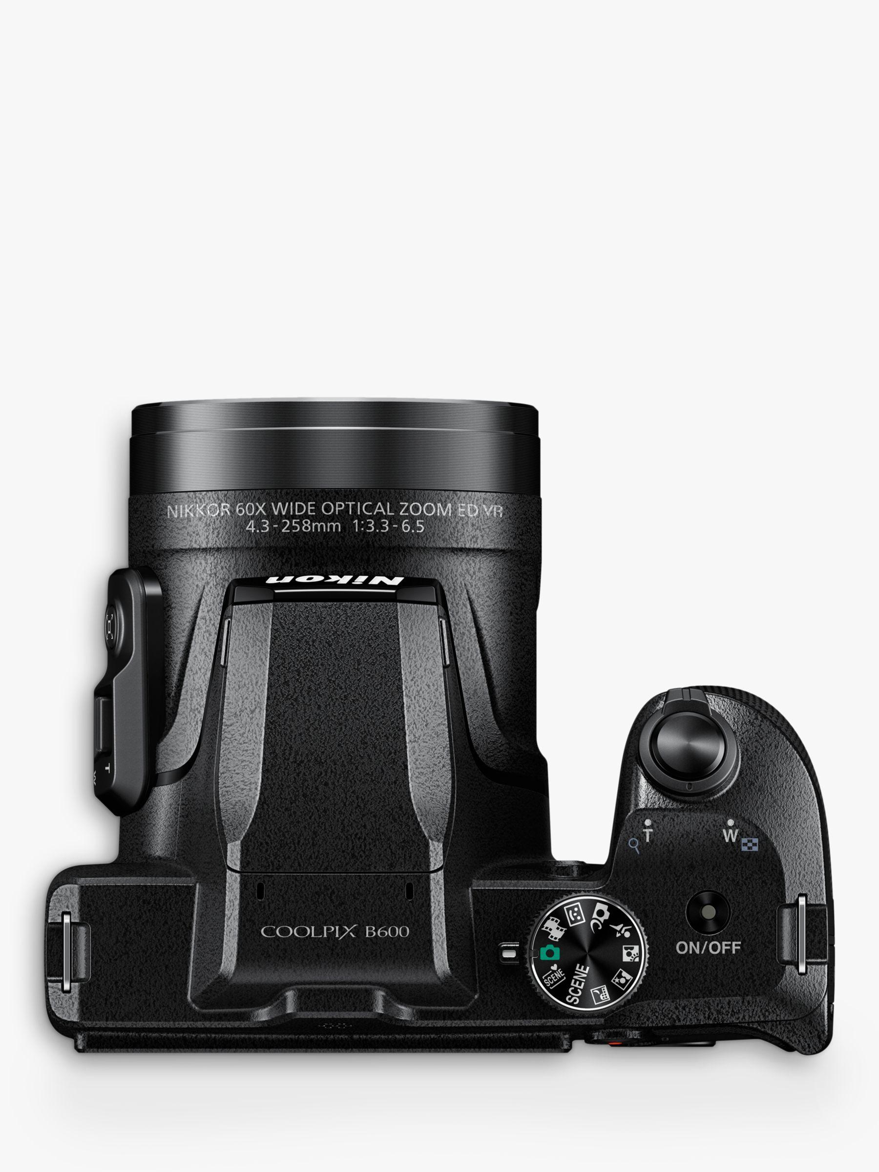 Nikon Coolpix B600 Bridge Camera 16mp Full Hd 60x Optical Zoom