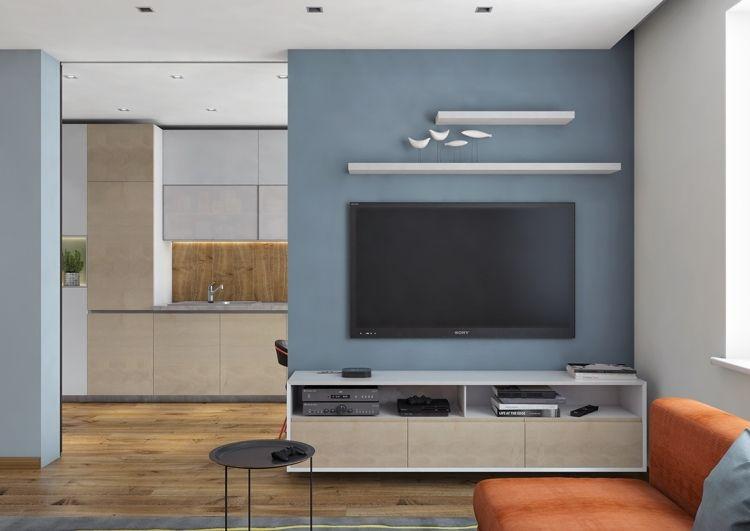 Couleur gris taupe, bois massif et déco géométrique ! | Salons