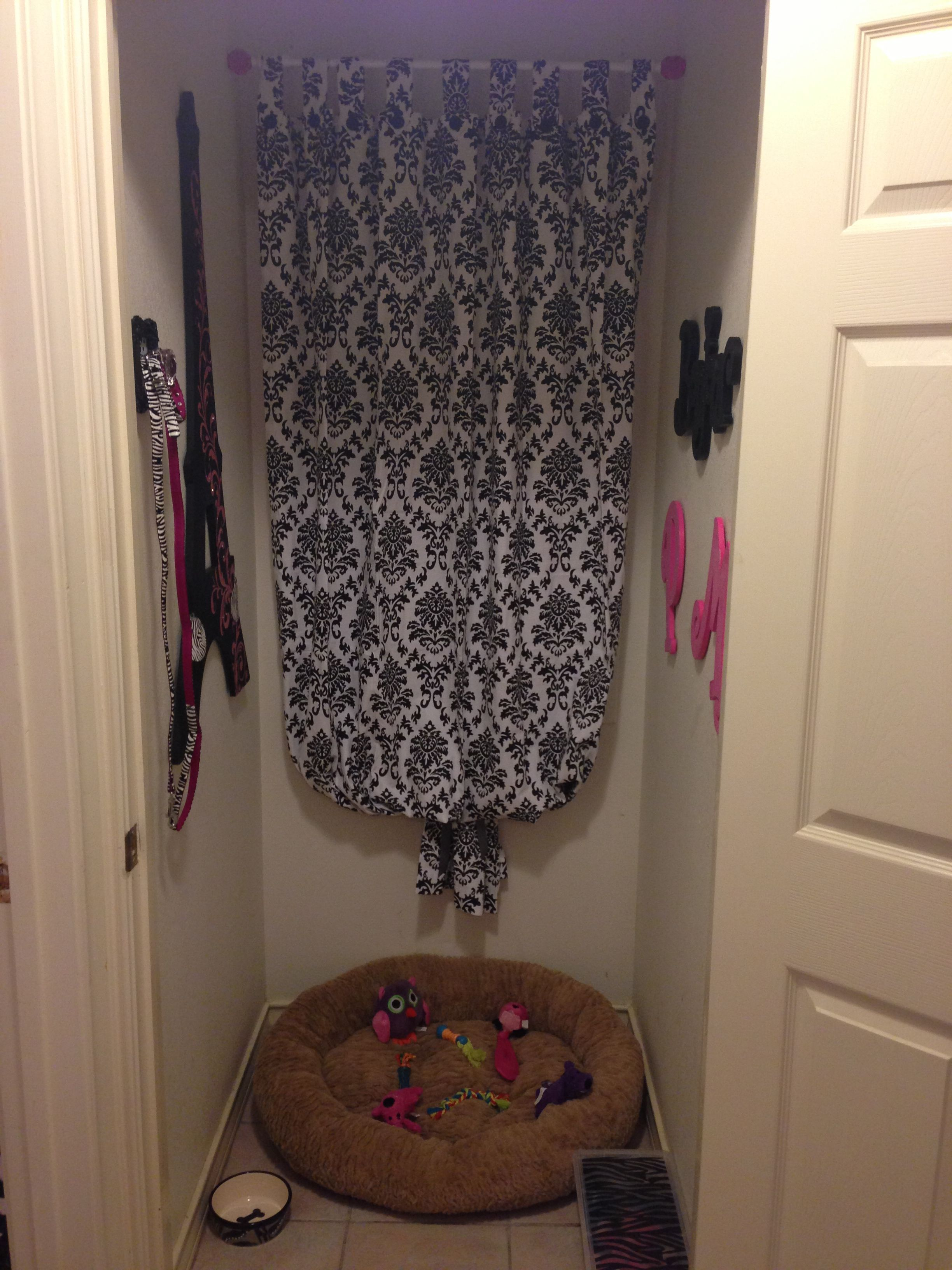 My baby girls room! She's a French bulldog so had to make