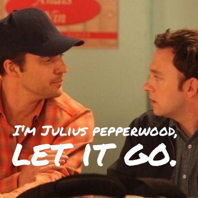 fec8ce9c5 I'm Julius Pepperwood, let it go.   funny bone.   New girl quotes ...