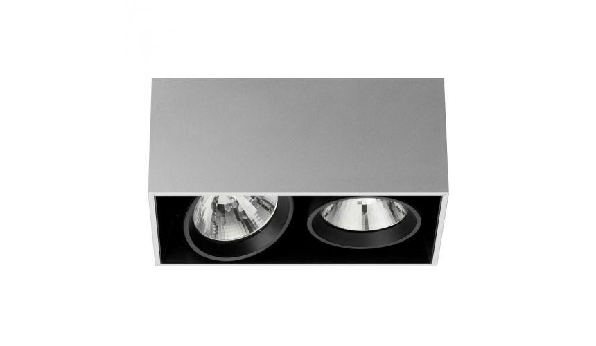 compass box 2 spot plafonnier flos plafonniers. Black Bedroom Furniture Sets. Home Design Ideas
