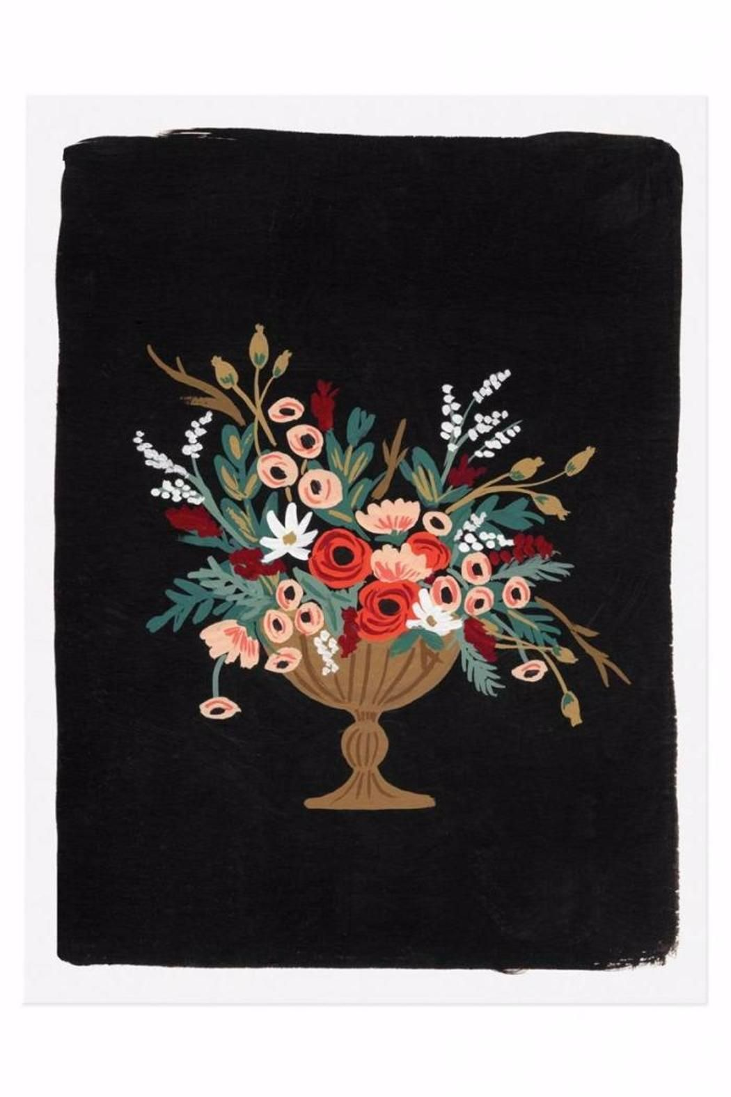 """Illustrated Art Print created from an original gouache painting by Anna Bond.    Measures: 8"""" x 10""""   Vase Print #4 by Rifle Paper Co. . Home & Gifts - Home Decor - Wall Art North Dakota"""