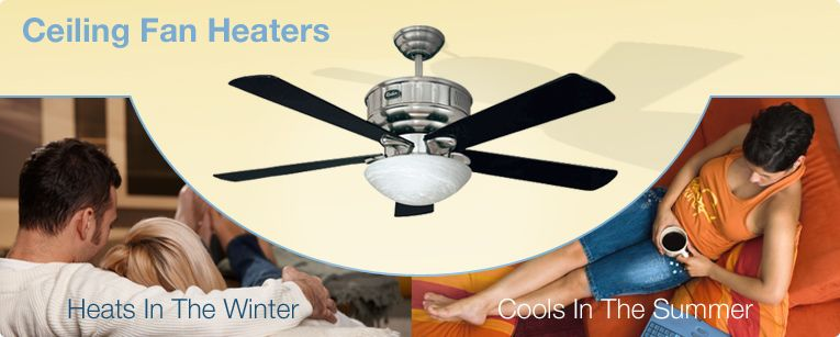 Ceiling Fan Heater Can Efficiently Heat