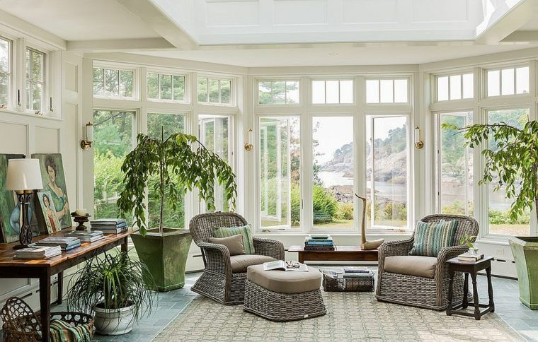 verri re ext rieure et v randa d co de printemps et d. Black Bedroom Furniture Sets. Home Design Ideas