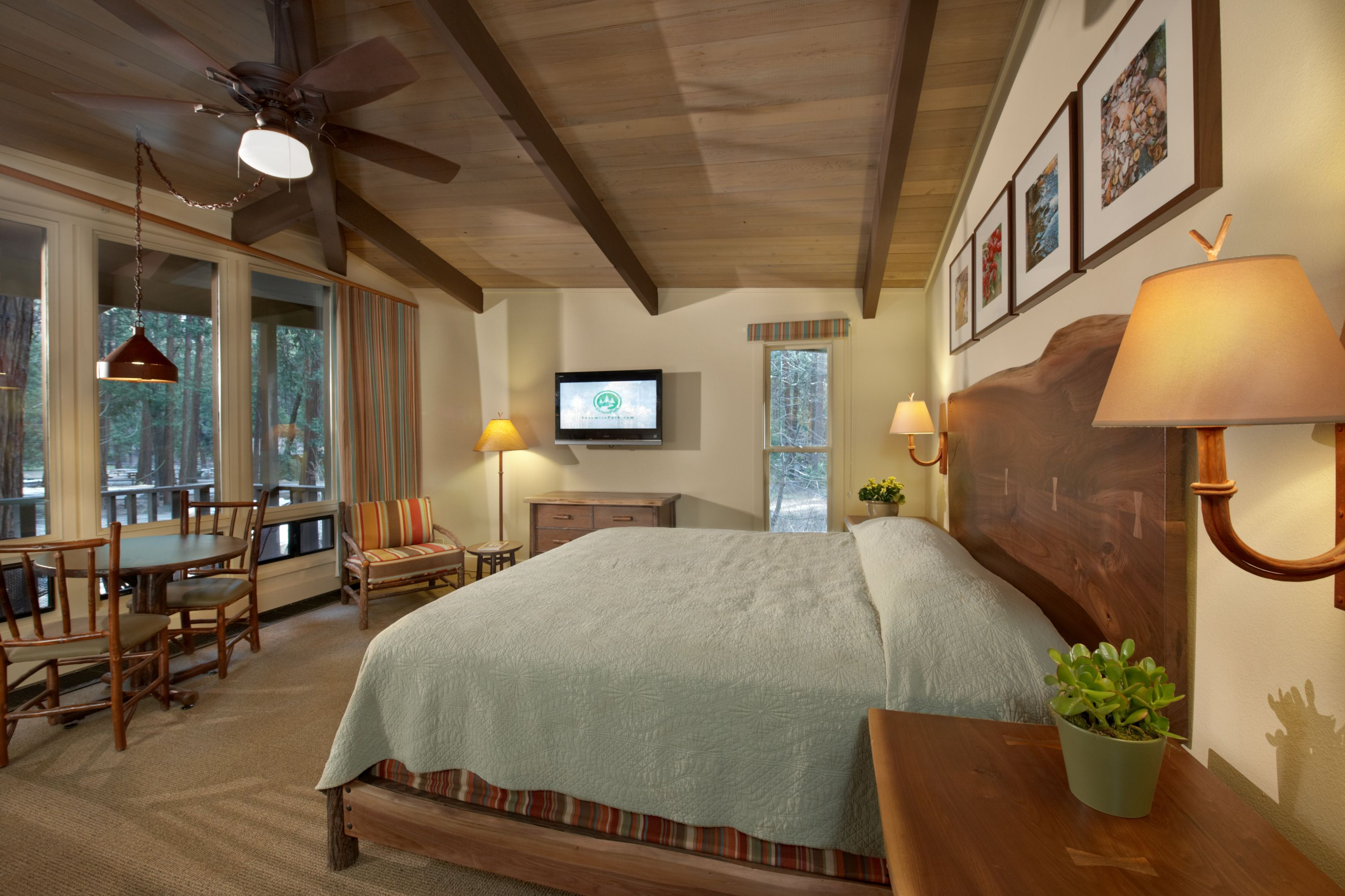 Eco-Friendly Remodeled rooms at Yosemite Lodge at the Falls