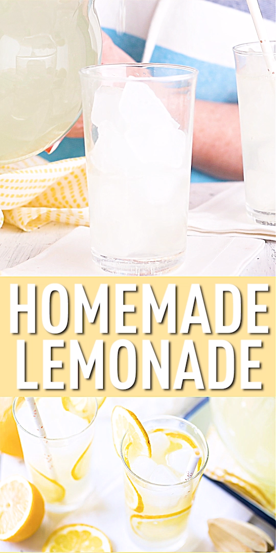 How to Make Lemonade #easylemonaderecipe