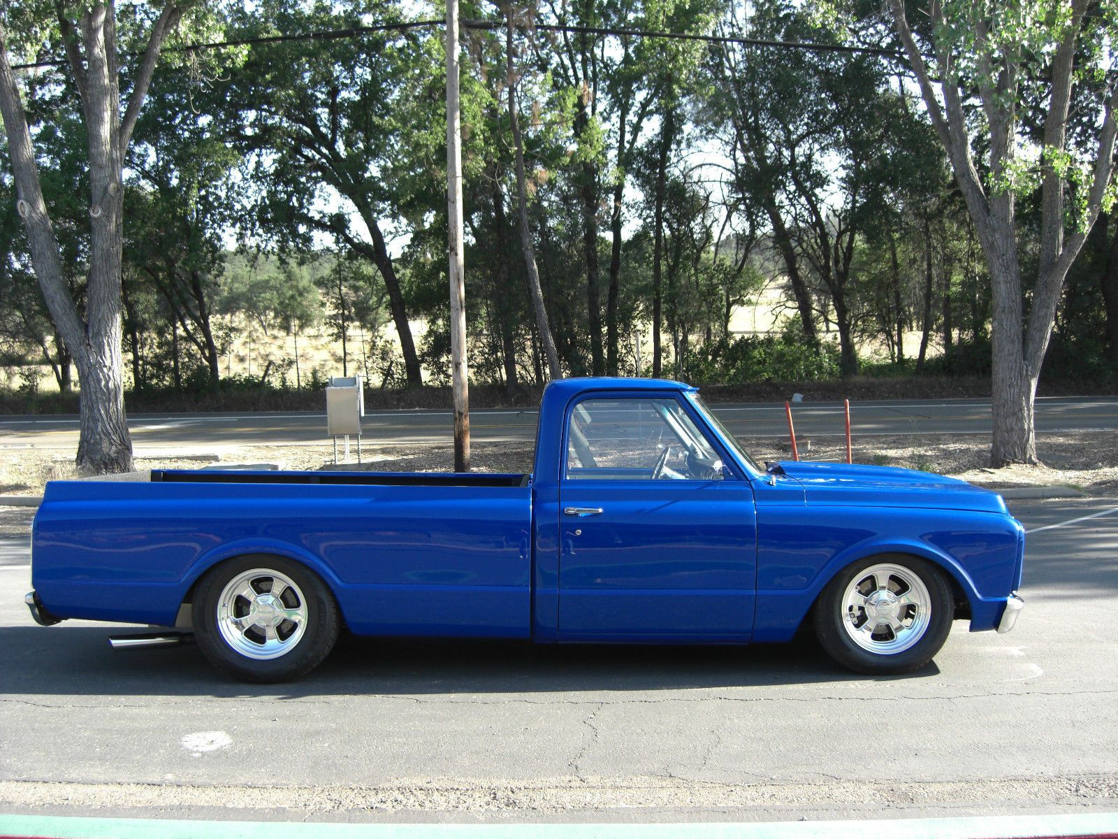 Chevrolet c 10 custom deluxe longbed custom 1972 chevrolet pickup supercharged