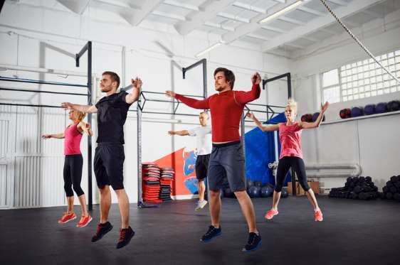 Plyometric exercises are very efficient, Williams says. They are collectively knowns as jump trainin... - Shutterstock