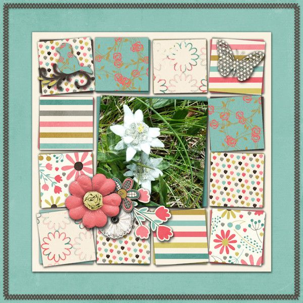 Special Flower Credits Let S Talk Spring Page Kit Collab By Mandy King Mye De Leon Always There Template Pack Letstalkspring