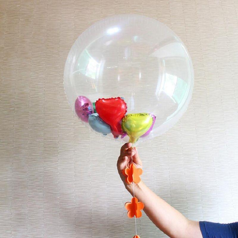 24 inch Crystal Clear Bubble Balloon60cm 24