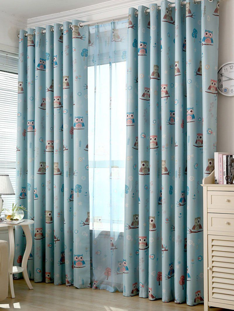 SHARE & Get it FREE   Cartoon Owl Pattern Blackout Window CurtainFor Fashion Lovers only:80,000+ Items • New Arrivals Daily • Affordable Casual to Chic for Every Occasion Join Sammydress: Get YOUR $50 NOW!