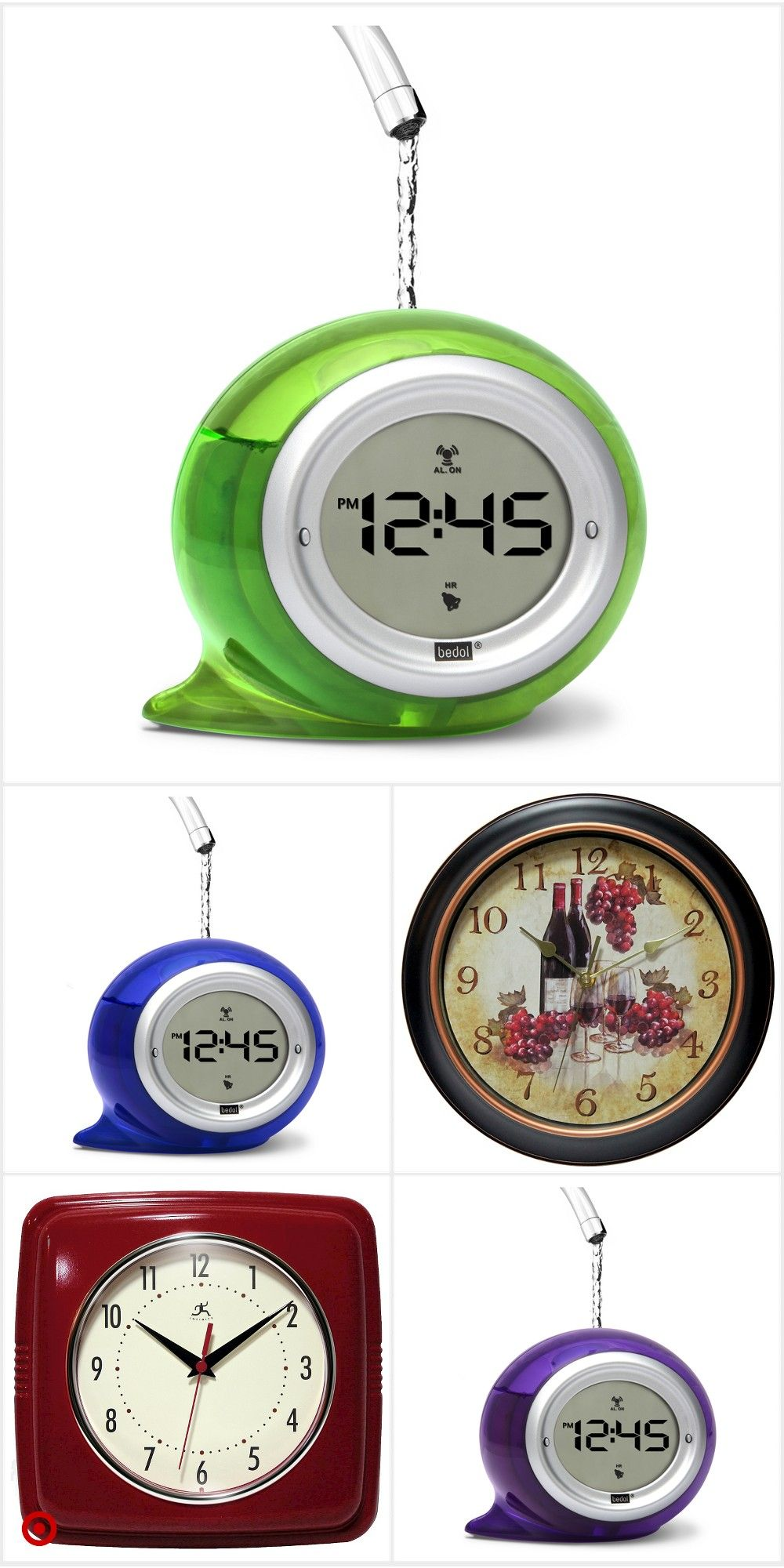 Shop Target For Decorative Clocks You Will Love At Great Low Prices Free Shipping On Orders Of 35 Or Free Same Clock Decor Wall Clock Light Clock Wall Decor