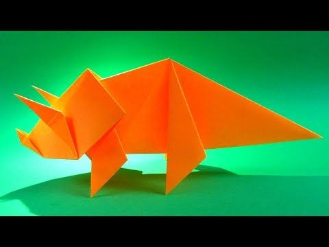 Photo of How To Make an Easy Origami Dinosaur – origami triceratops