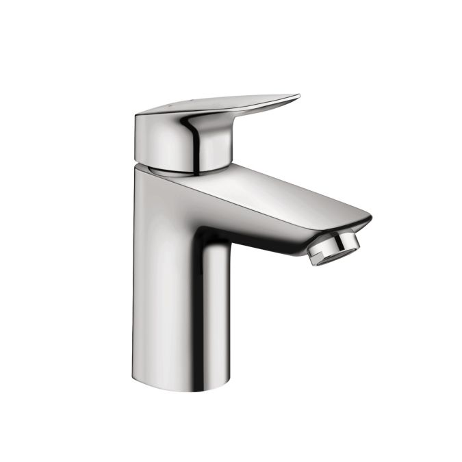 Single lever basin mixer 100 with popup waste set