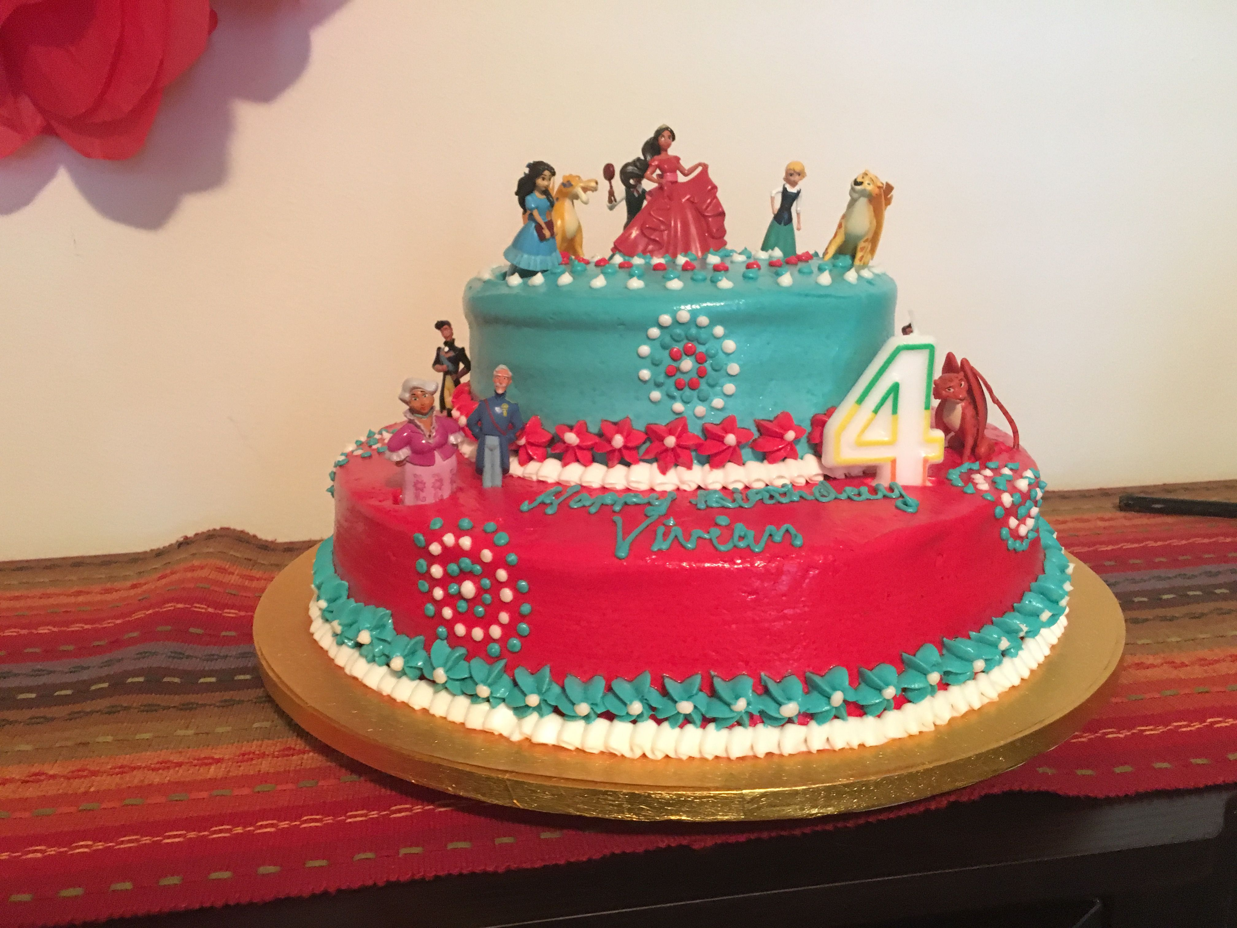 For our daughters Elena of Avalor birthday party we ordered the