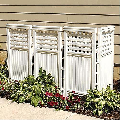 Outdoor Screen Panel, 44in X 23in, 4 Pack | Gardeners Edge