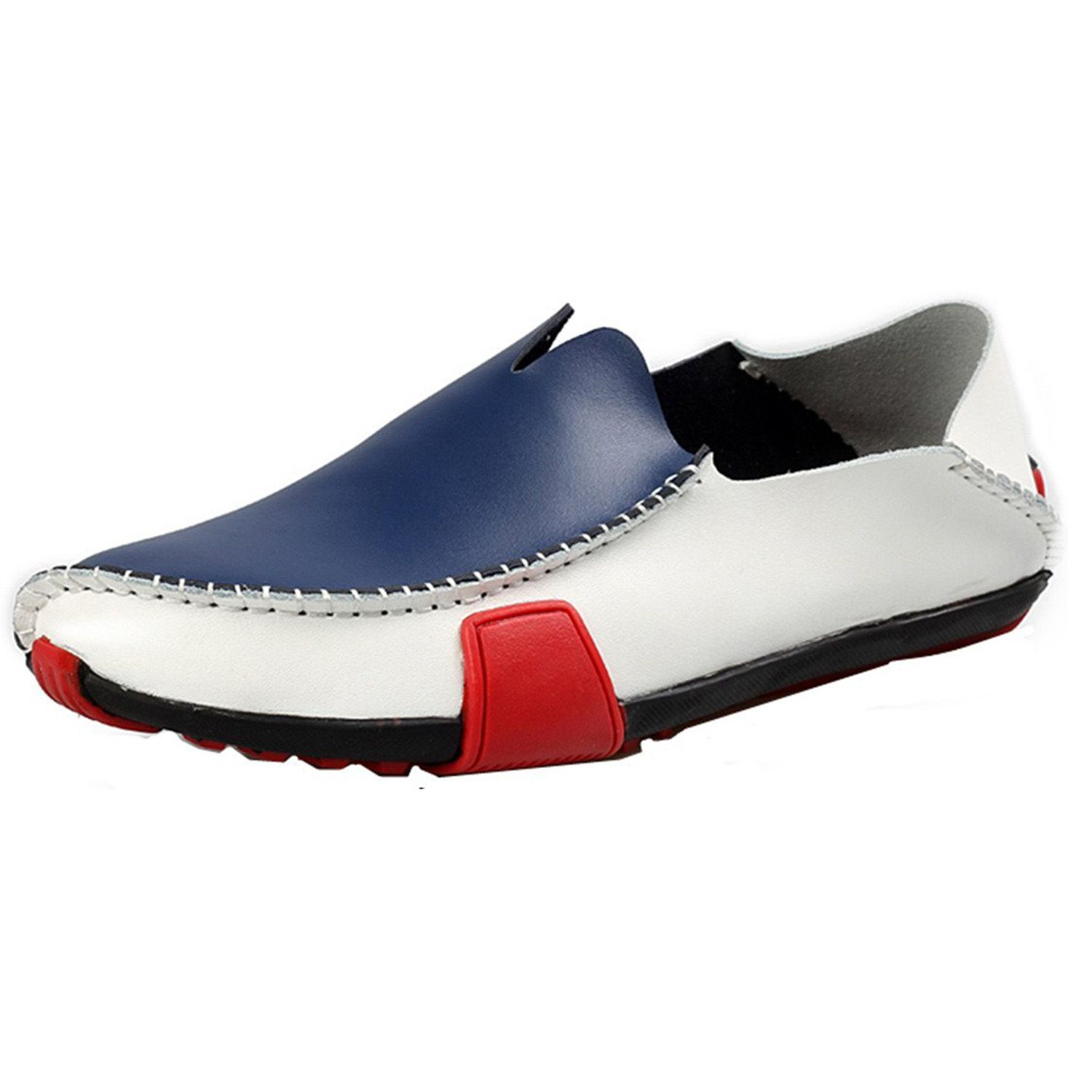 00e307242f4b3 Znpnxn Men's Casual Leather Driving Shoes Low Top Slip-on Loafer ...