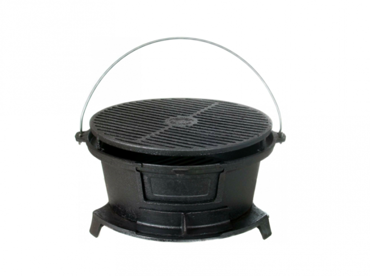 Beautiful 10 Easy Pieces: Portable Grills For Urban Picnics. Cast Iron ...