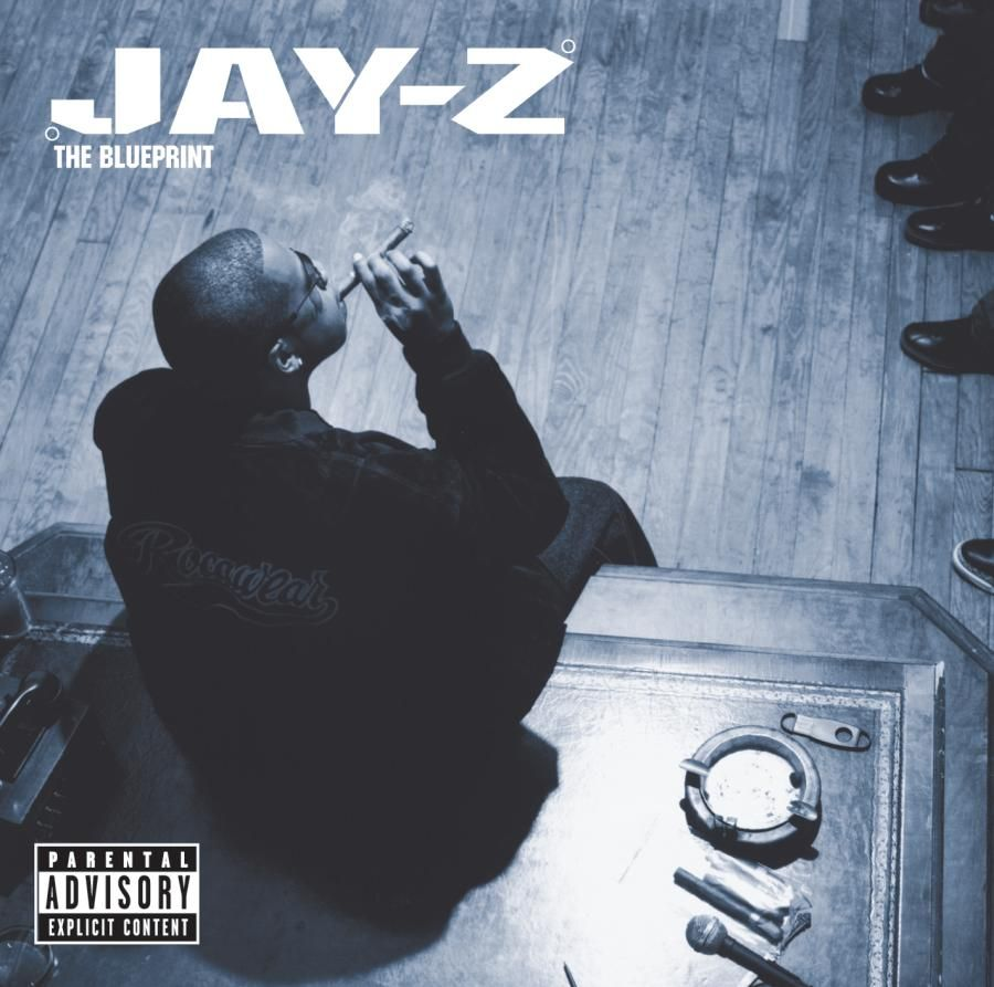 Jay z the blueprint 2001 c roc a fella music pinterest hip album covers malvernweather Image collections