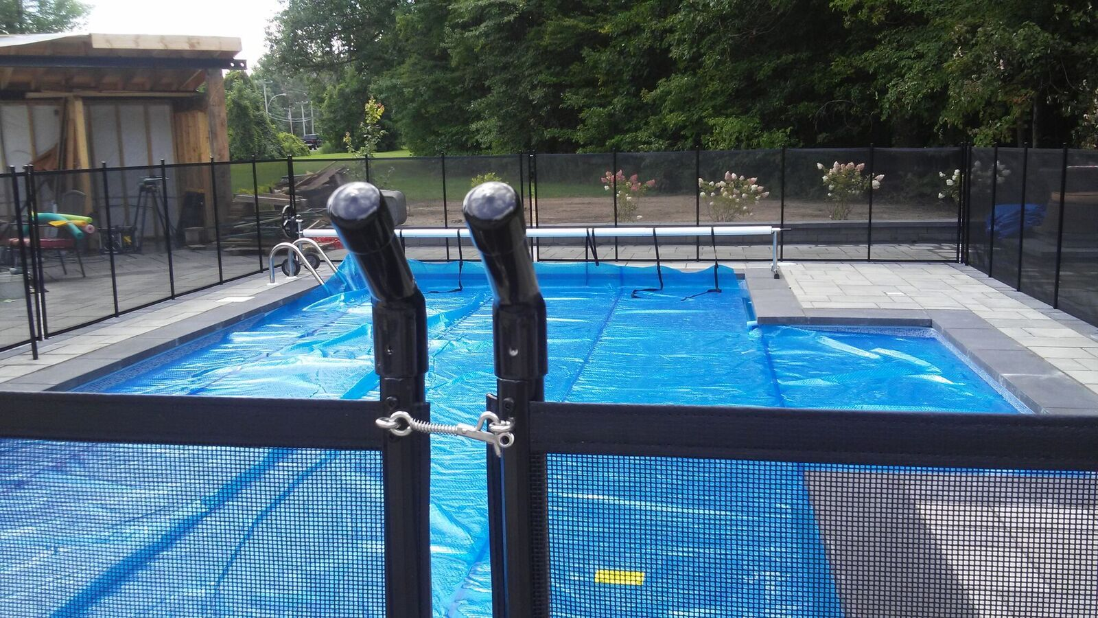 Amazone child safe removable pool fence removable pool