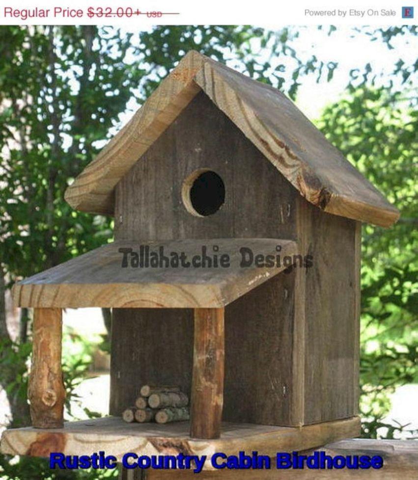 Most Popular Birdhouses Rustic In Your Garden 16 Birdhouses