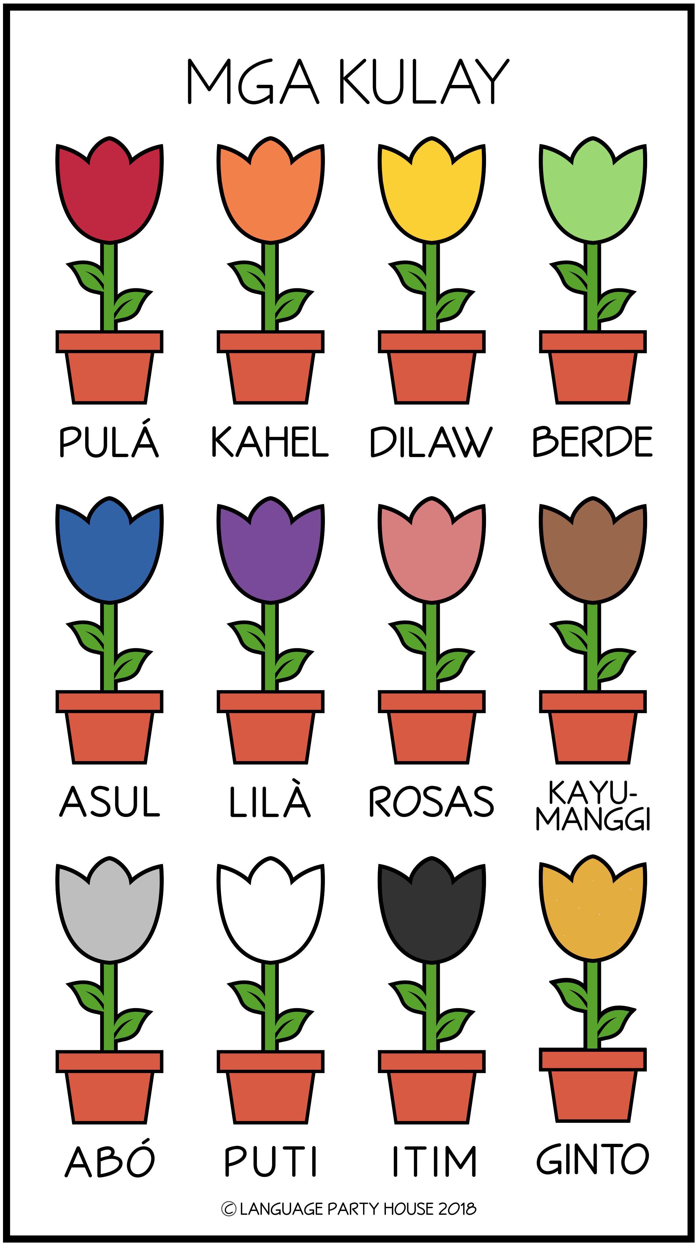 Tagalog Colors