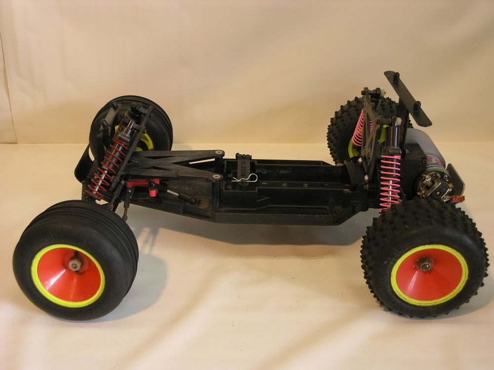 Vintage Team Losi110 Scale Truckartr Rolling Chassisold