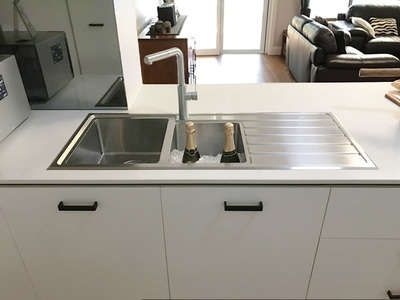 Oliveri Apollo 1 3 4 Topmount Sink With Drainer With Images