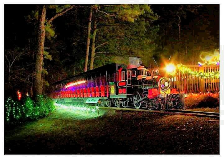 The train will be ready to roll Thanksgiving Night for Christmas ...