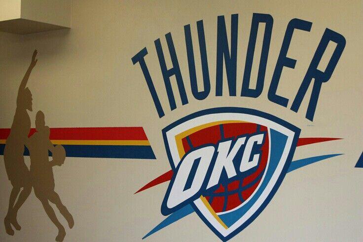 Okc Thunder Room Idea Paint