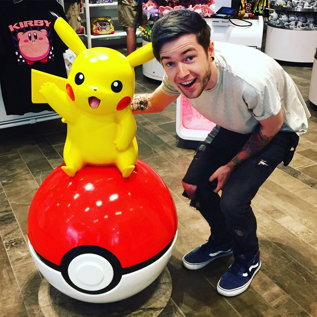 Dantdm found a pikachu dantdm pinterest tdm - Diamond minecart theme song ...