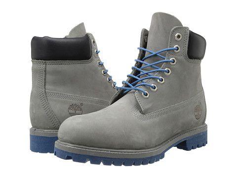 Timberland Classic 6 Premium Boot Grey Nubuck Blue, Blue
