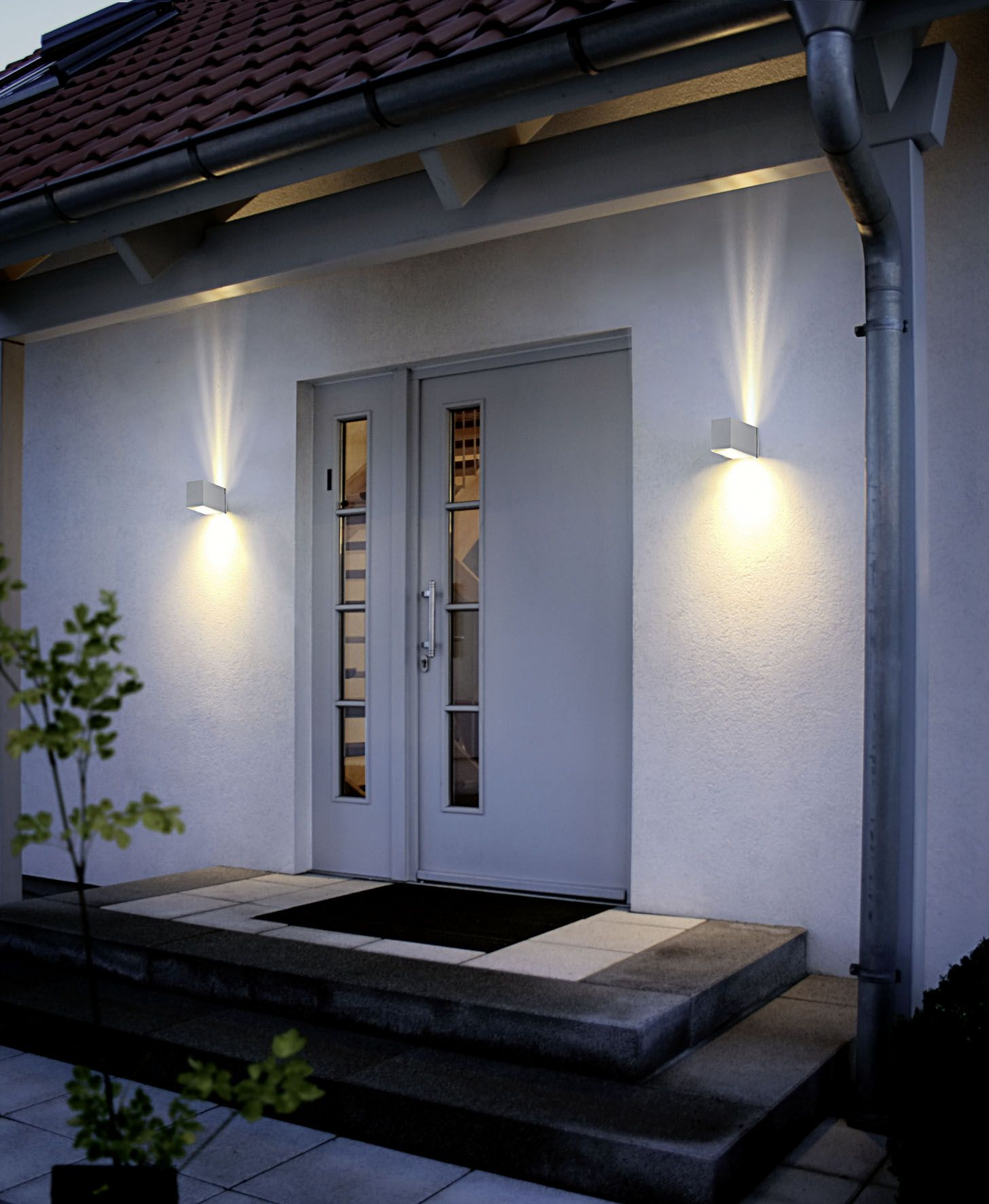 Eglo outdoor lighting wall light tabo silver finish jd s eglo outdoor lighting wall light tabo silver finish workwithnaturefo