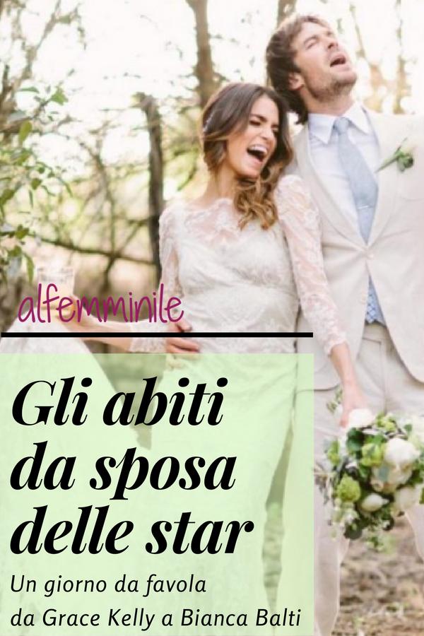 a83b6808345b Da Grace Kelly a Bianca Balti vi proponiamo una gallery dedicata ai vestiti da  sposa scelti