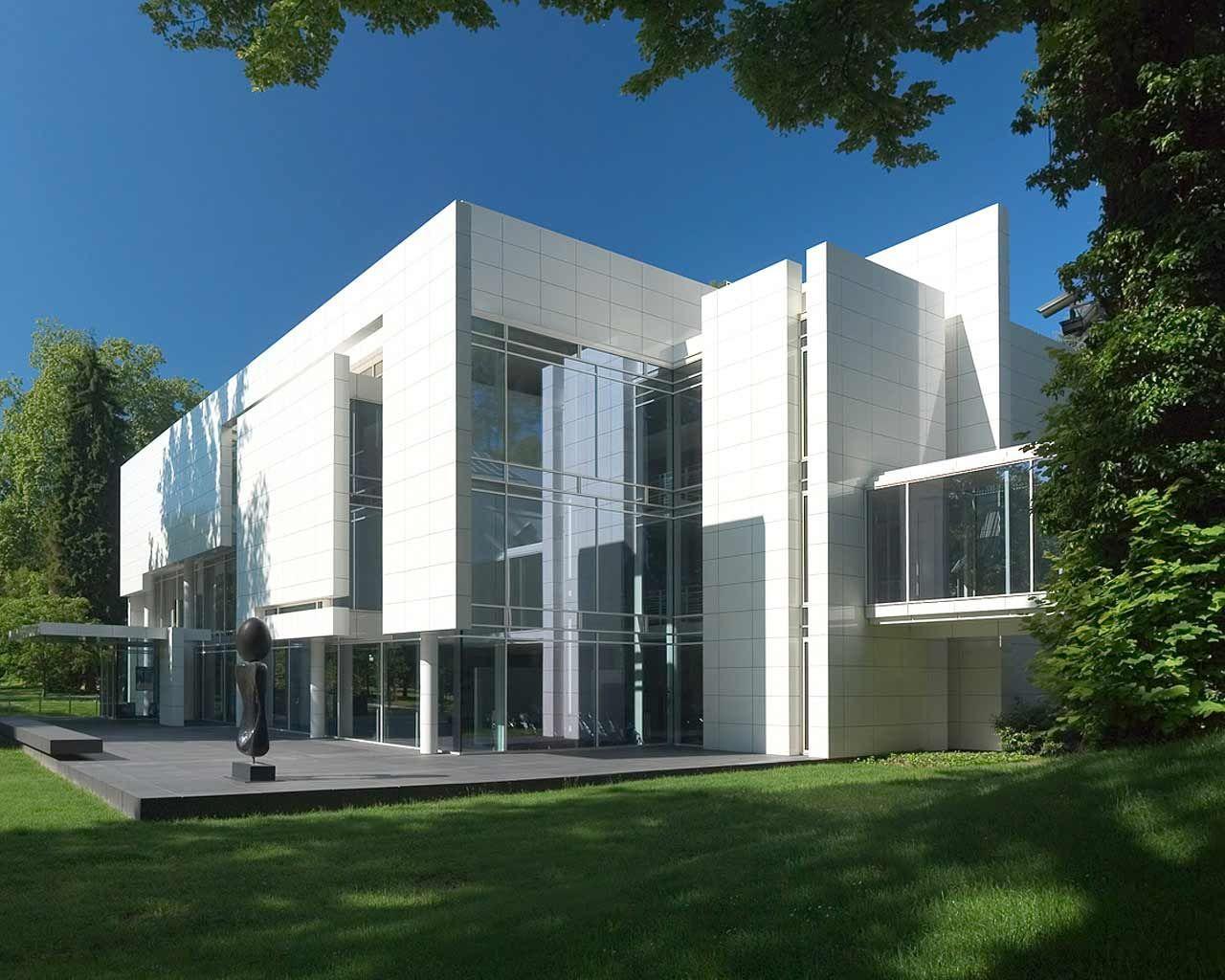 Museum frieder burda baden baden germany richard meier for Richard meier architetto