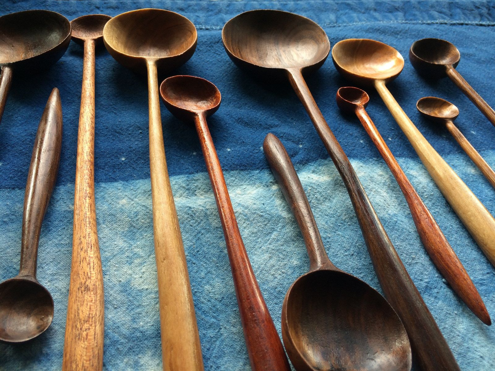 Windy Chien Fat Bottomed Girls Handcarved Wood Spoons | Spoon, Woods ...
