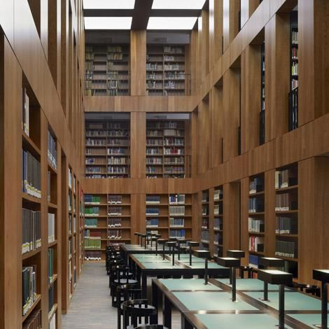 Architekt Essen max dudler architekt folkwang bibliothek essen max dudler