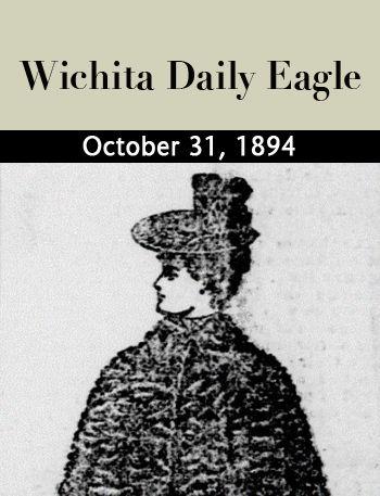 Women's fashions, Wichita Daily Eagle, October 31, 1894