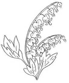 Image Result For Bleeding Hearts Coloring Pages Embroidery Patterns Vintage Ribbon Embroidery Embroidery Flowers