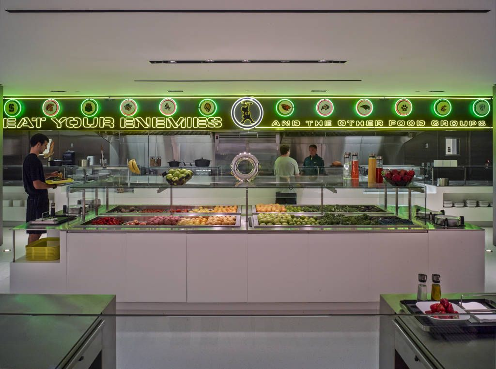 The University Of Oregon Football Performance Center Training Table - Training table restaurant